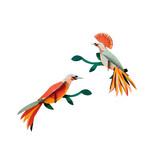 Studio Roof Paradise Birds - Obi