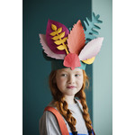 Studio Roof Pop Out Leaves - Party Headdress