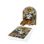 Studio Roof Pop Out Cards - Leopard