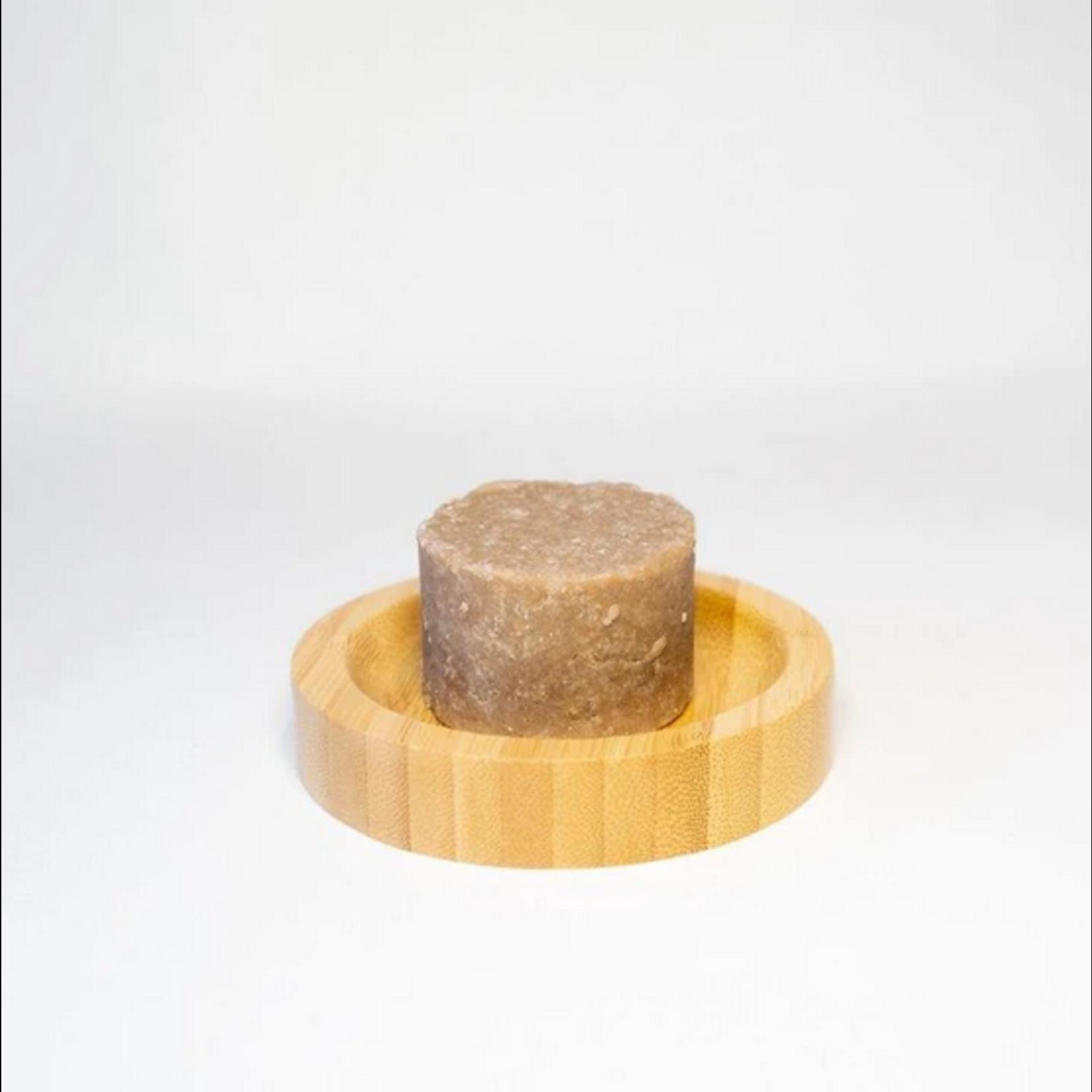 Croll  & Denecke Croll & Denecke - Round Bamboo Soap Dish