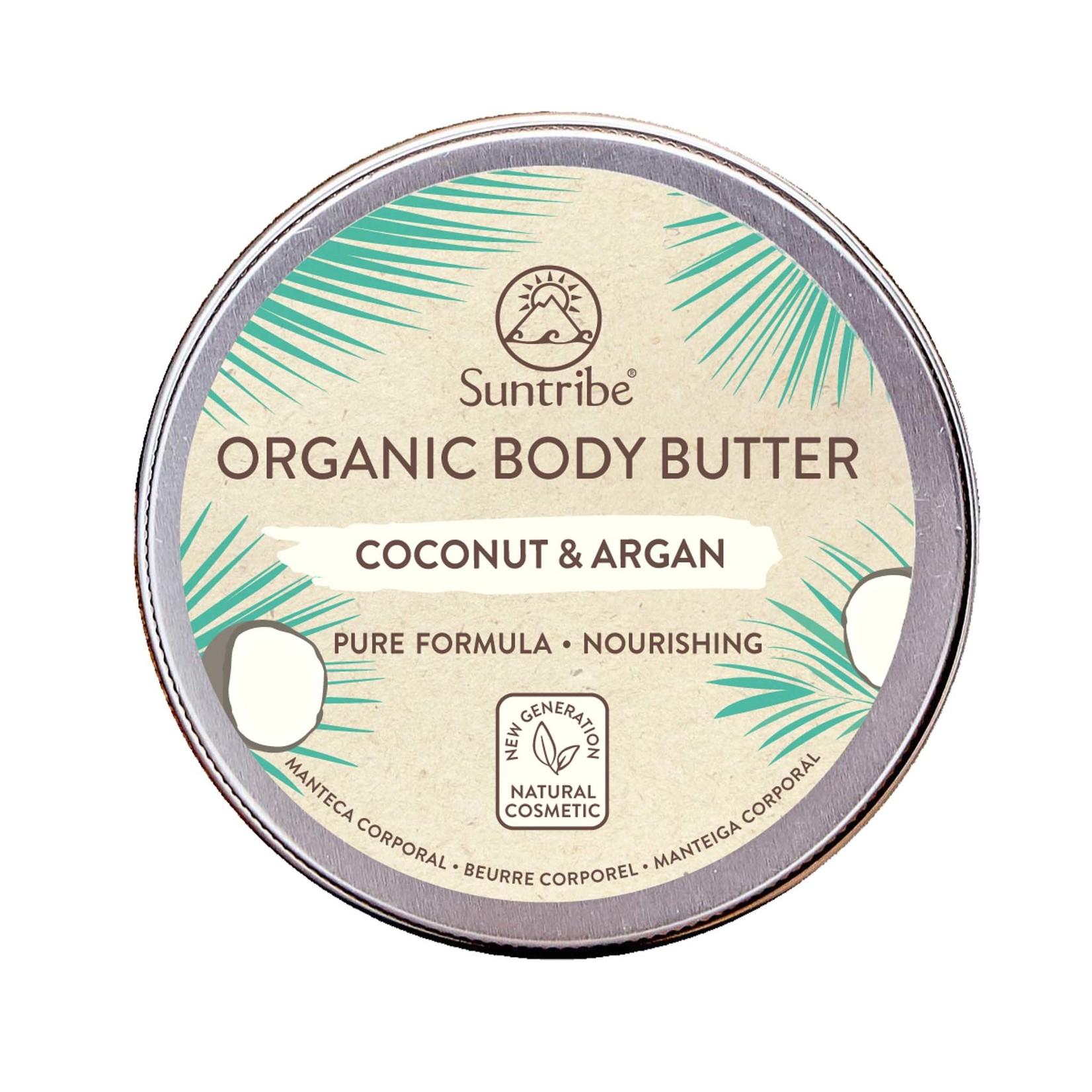 Suntribe Suntribe All Natural Body Butter - Coconut & Argan- 150ml