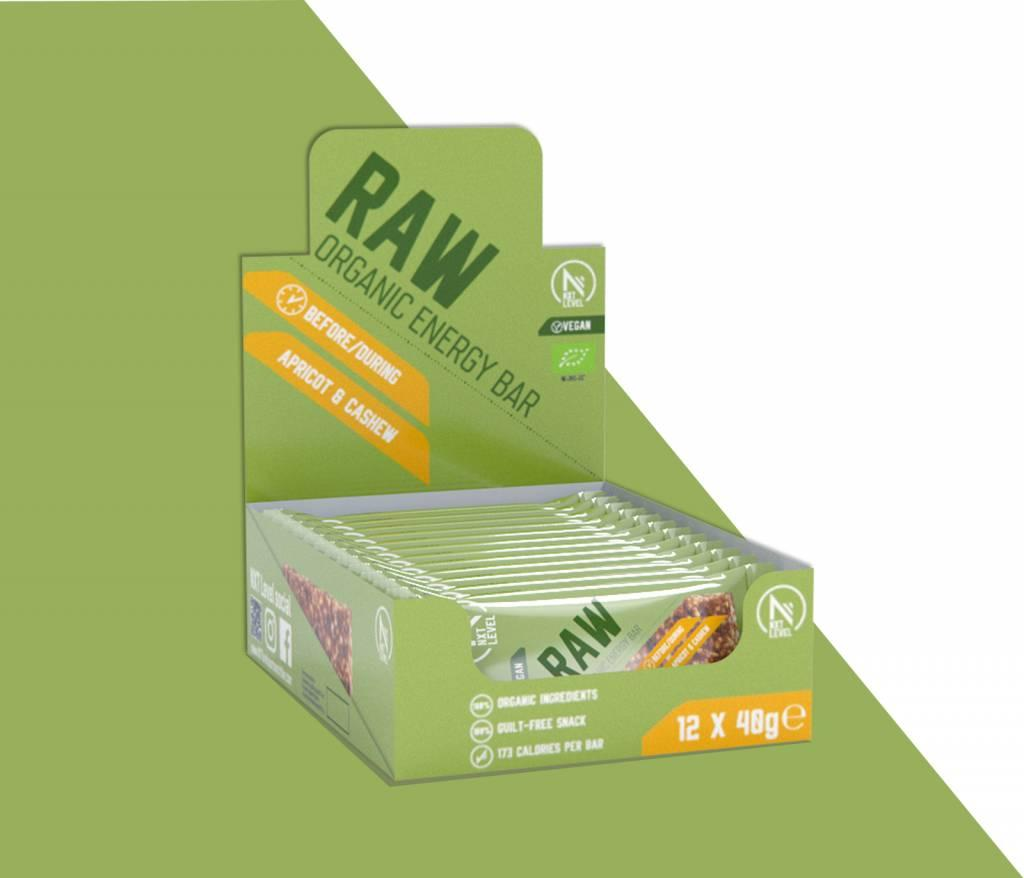 RAW - Energy Bar (12 pcs)
