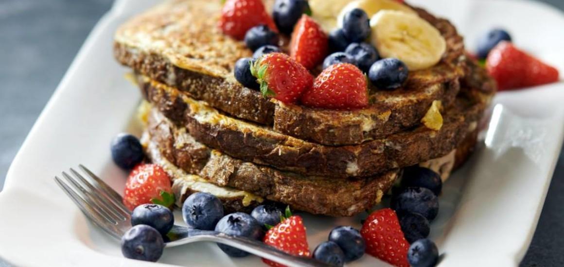 Vanille wentelteefjes boordevol eiwitten
