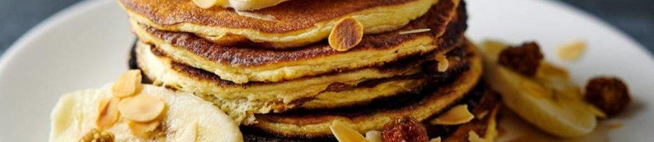 Pancakes à la banane riches en protéines