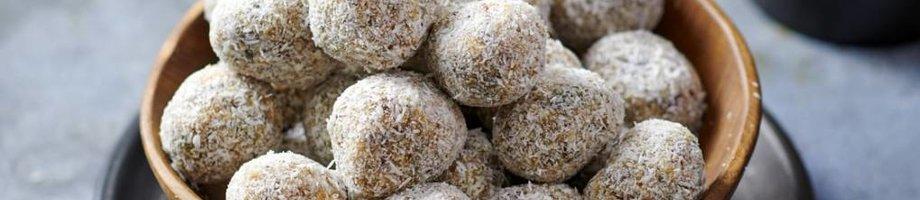 Eiwitrijke karamel zeezout balls