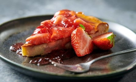 Protein Aardbeien Cheesecake