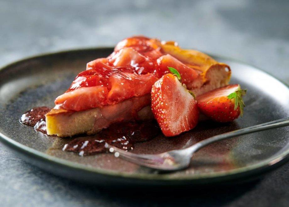 Eiwitrijke Aardbeien Cheesecake