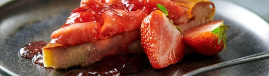 Protein Strawberry Cheesecake