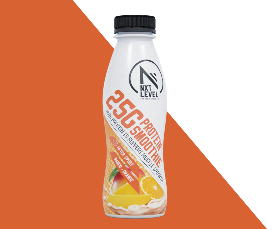 Eiwitrijke Smoothie - Mango/Sinaasappel (1 piece) - gratis