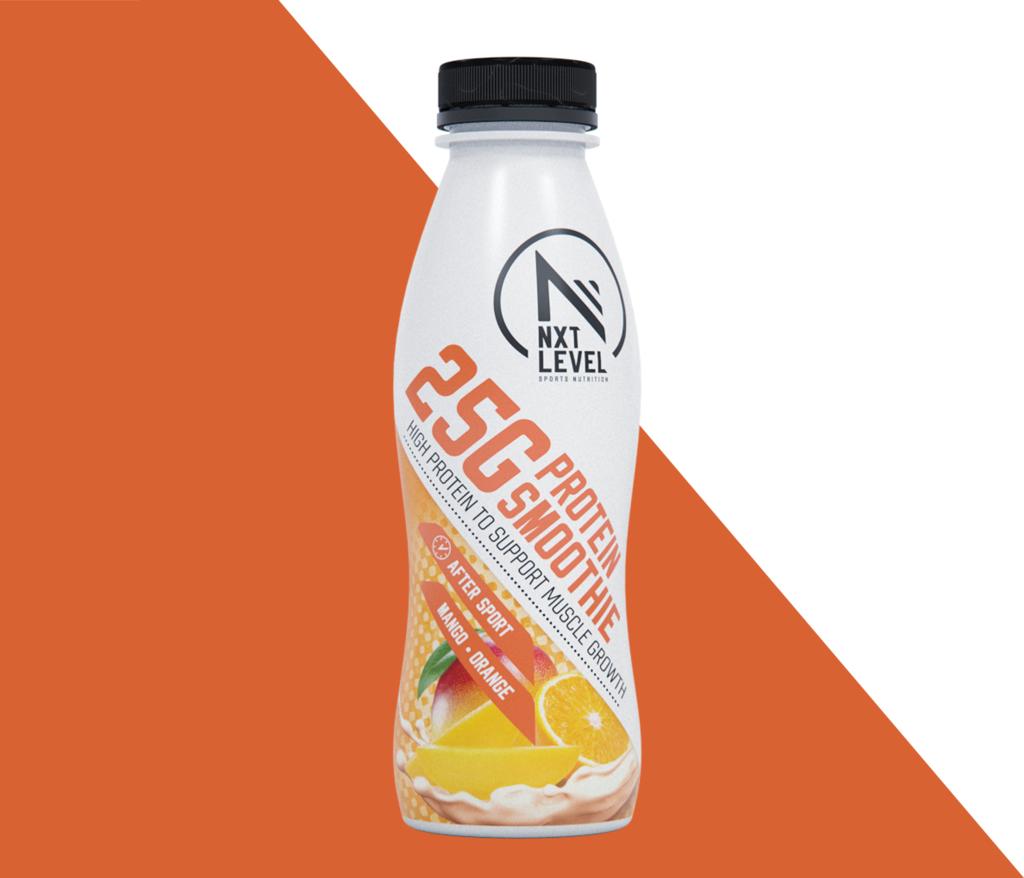 High Protein Smoothie - Mango/Orange (1 piece) - for free