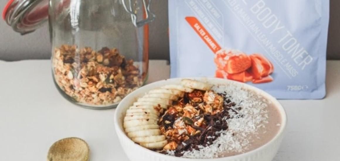 Smoothie bowl – Caramel Salé Banane