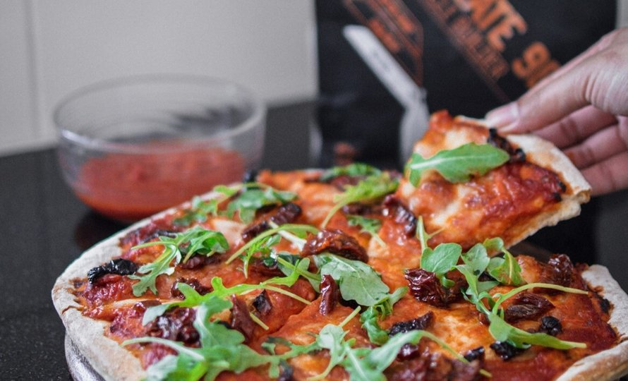 Pizza de proteína para un fin de semana healthy