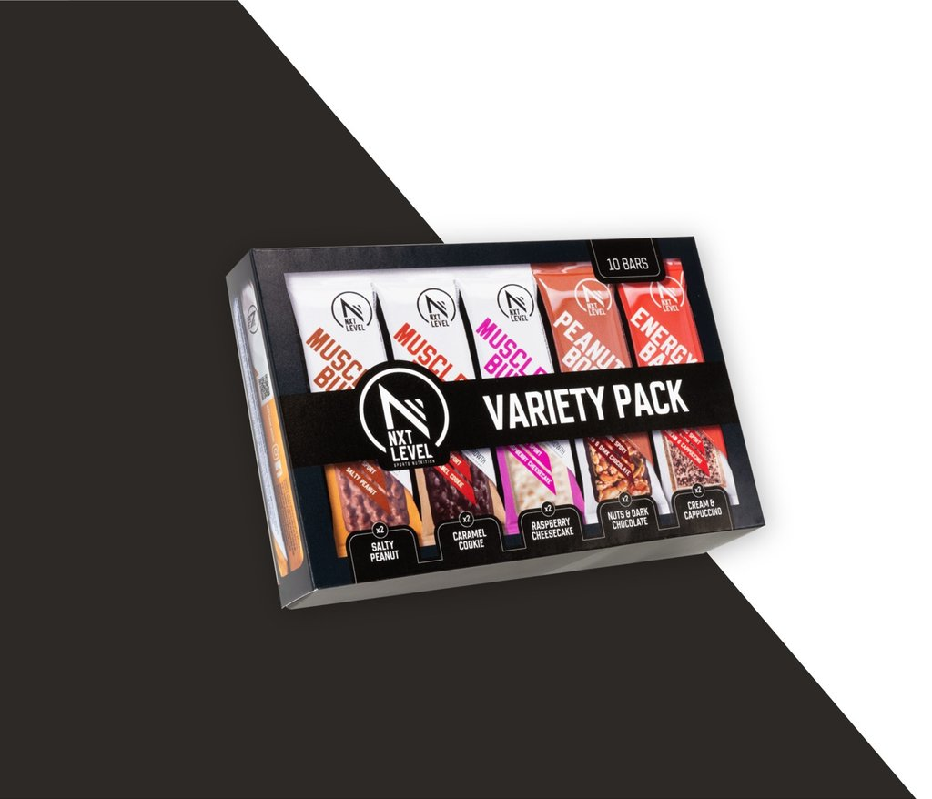 Protein & Energy Bar Variety Pack (10 pcs)