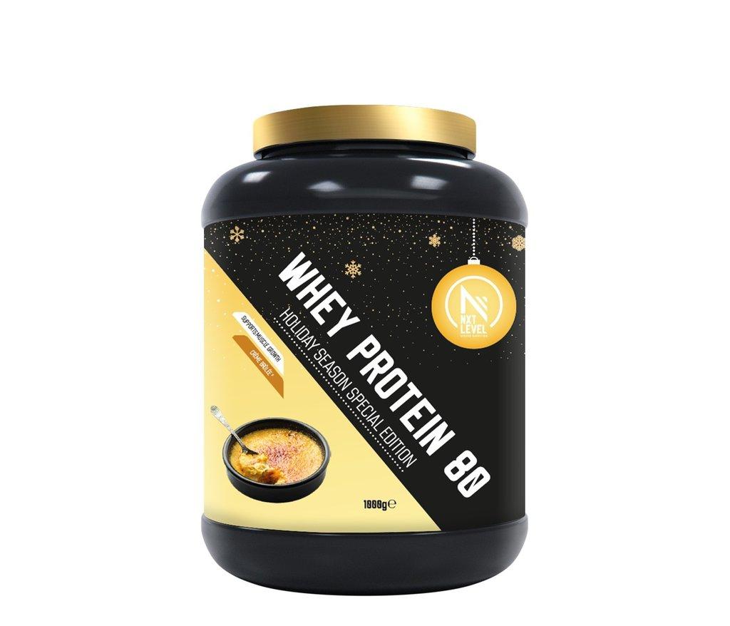 Whey Protein 80 - Special Edition - Crème brûlée