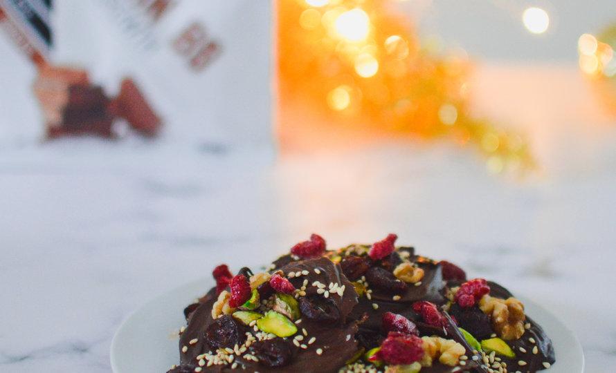 Proteïne Rijke Chocolade Bites