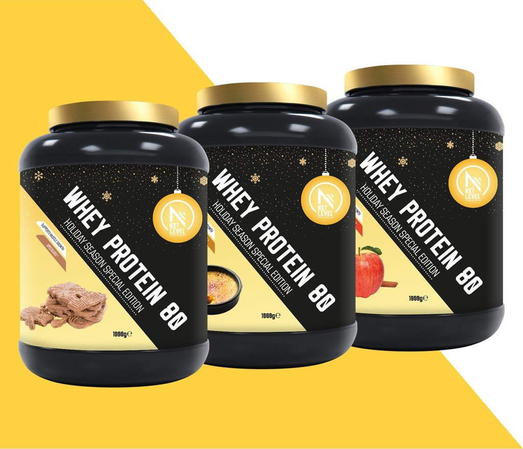 Christmas Pack - Whey Protein 80 - Special Edition (3x1kg)