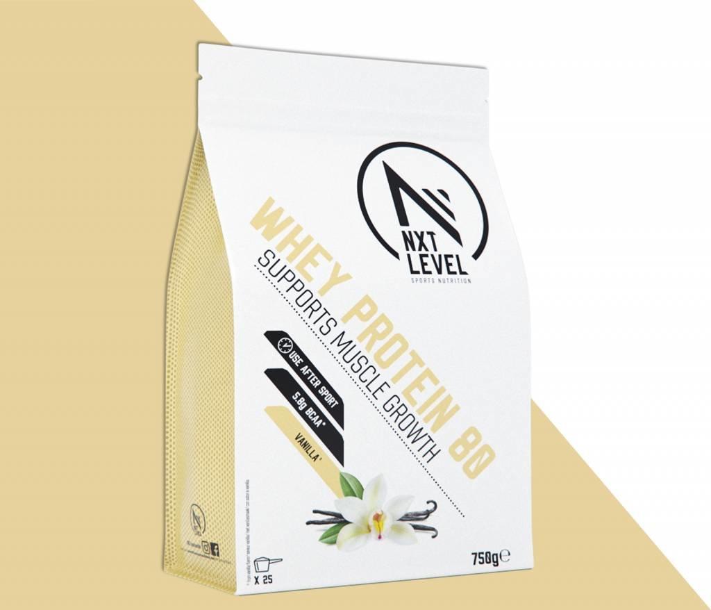 Whey Protein 80 - Vanilla - 750g_