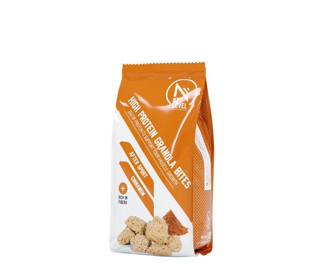 High Protein Granola Bites - Cinnamon