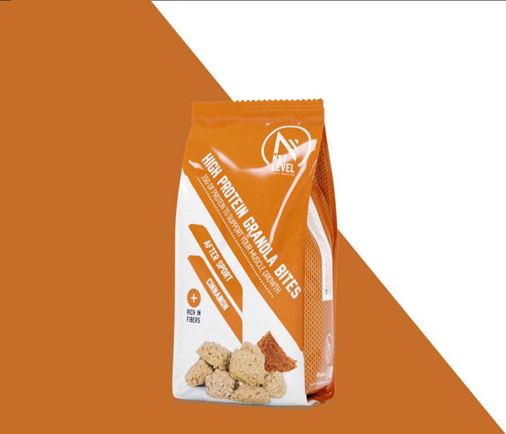 Bouchées de Granola protéiné - Cannelle