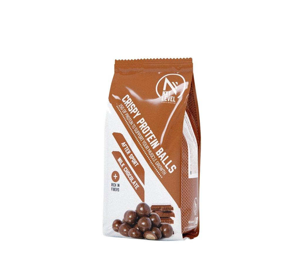 Billes Croustillantes Protéinées - Chocolat au lait