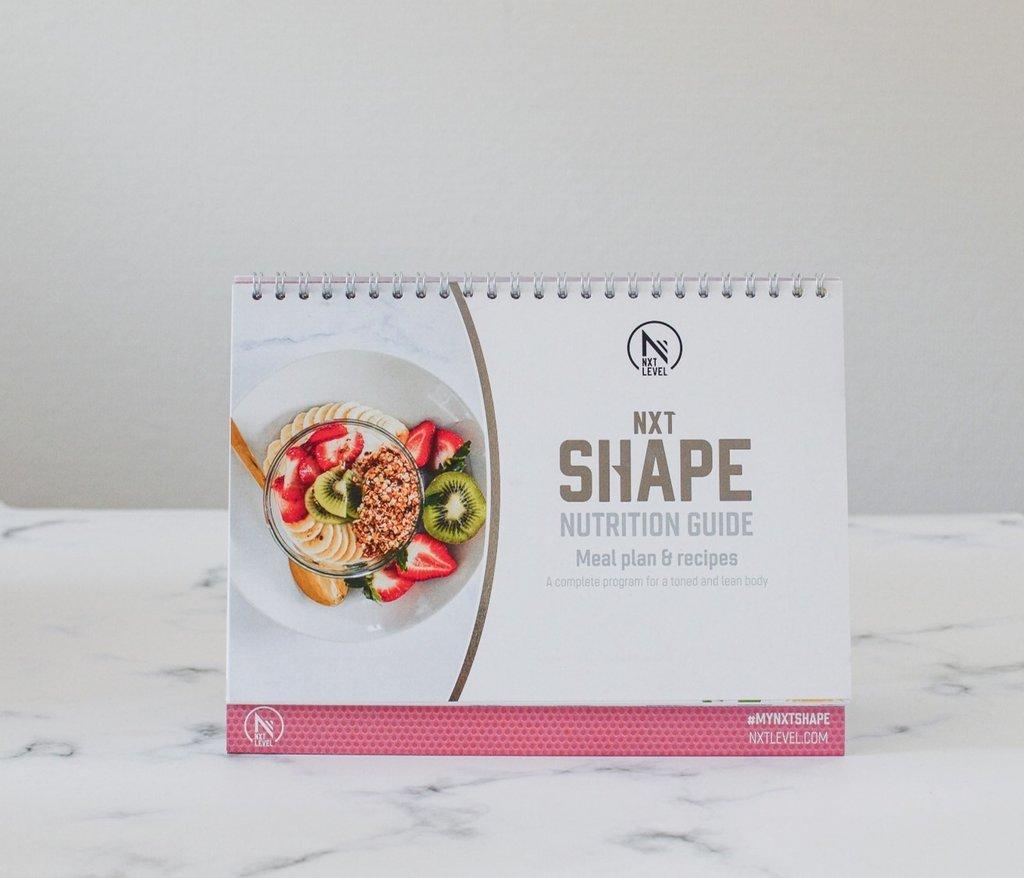 *NXT Shape - Livrets Nutrition et Sport