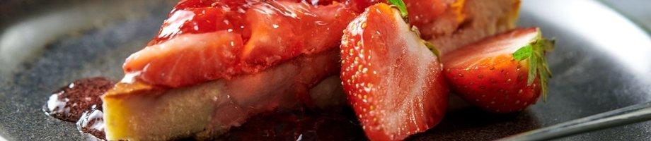 Cheesecake protéiné a la fraise