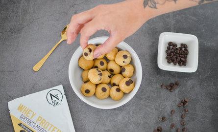 Eiwitrijke Edible Cookie Dough Balls