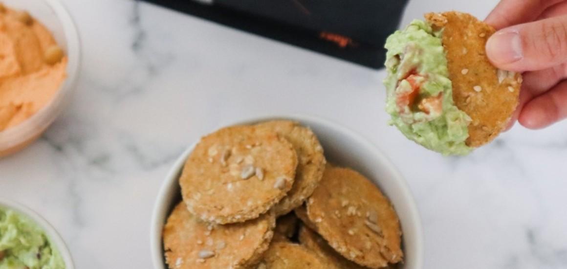 Crackers à l'avoine protéinés