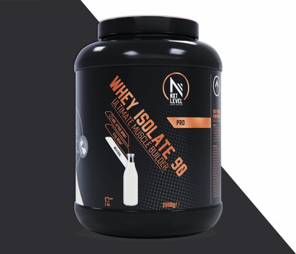 Whey Isolate 90 - Neutraal - 2kg_