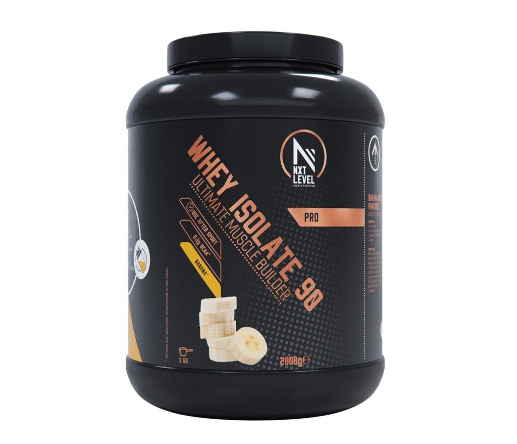 Whey Isolate 90 - Banaan - 2kg_
