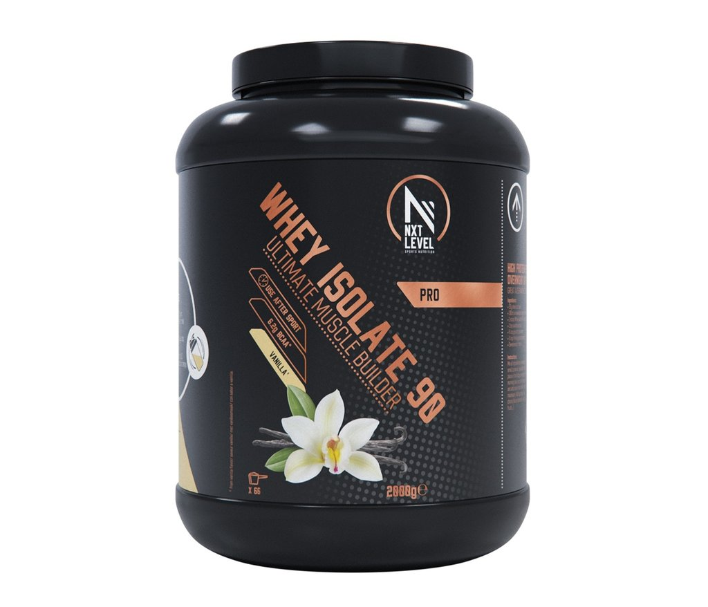Whey Isolate 90 - Vanilla - 2kg_