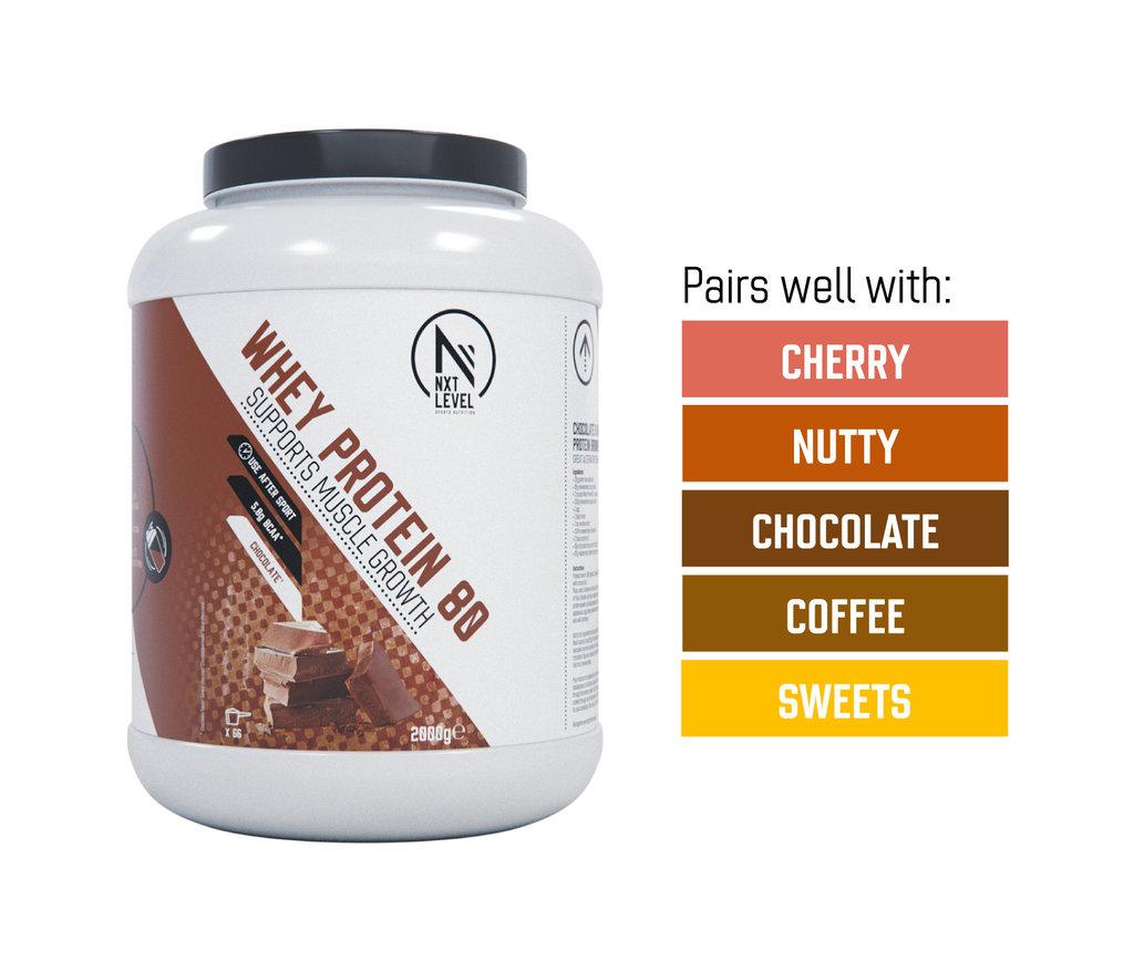 Bundle Whey 80 2kg +2 flavor drops of choice