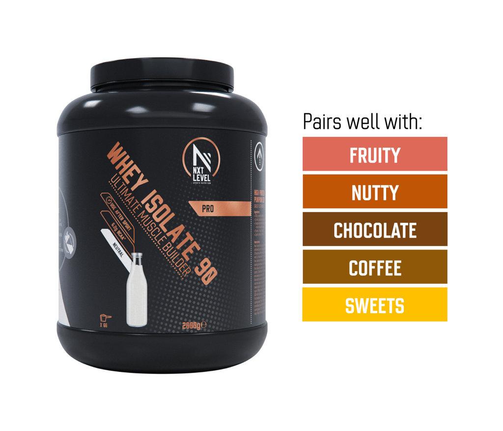 Bundle Whey 90 2kg + 2 flavor drops of choice