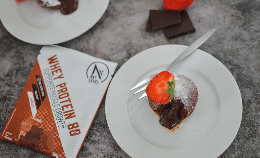 Protein Rich Lava Cake