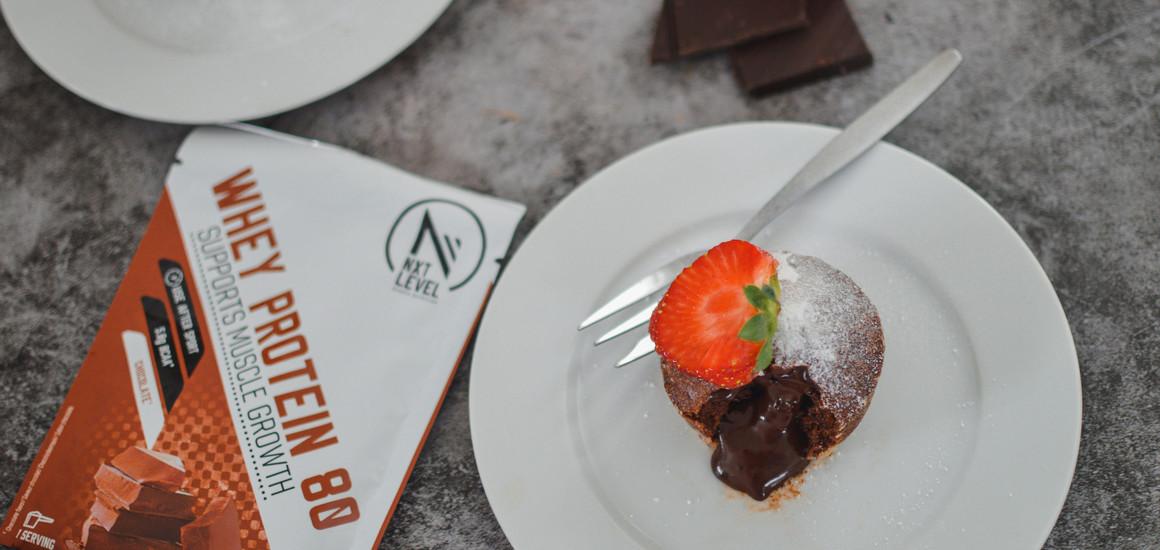 Eiwitrijke Lava Cake