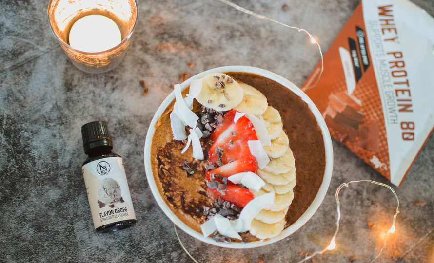 Hot Choco Smoothie Bowl