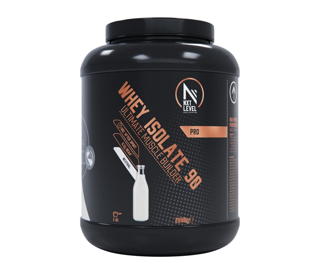 Whey Isolate 90 - Neutral - 750g_