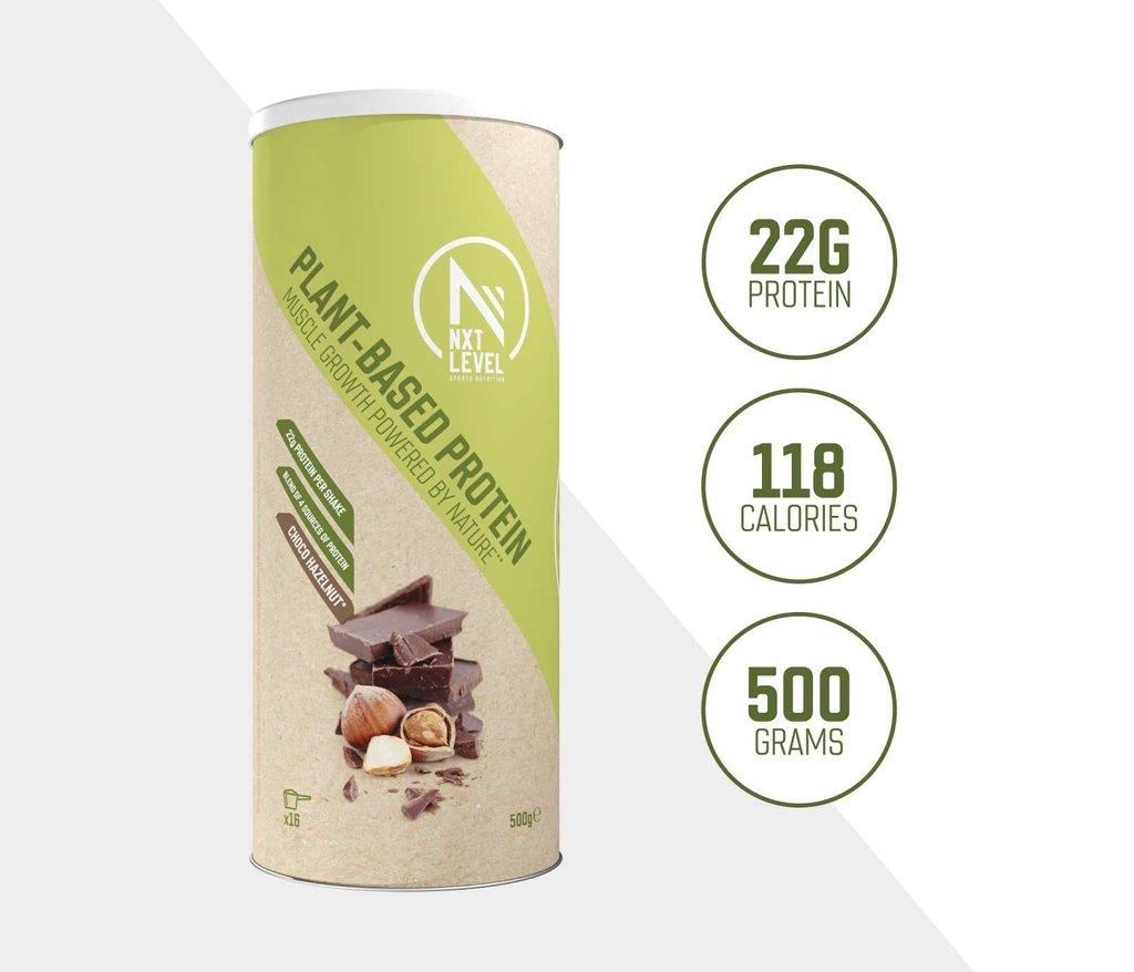 Plant-Based Protein - Choco Hazelnoot - 500g