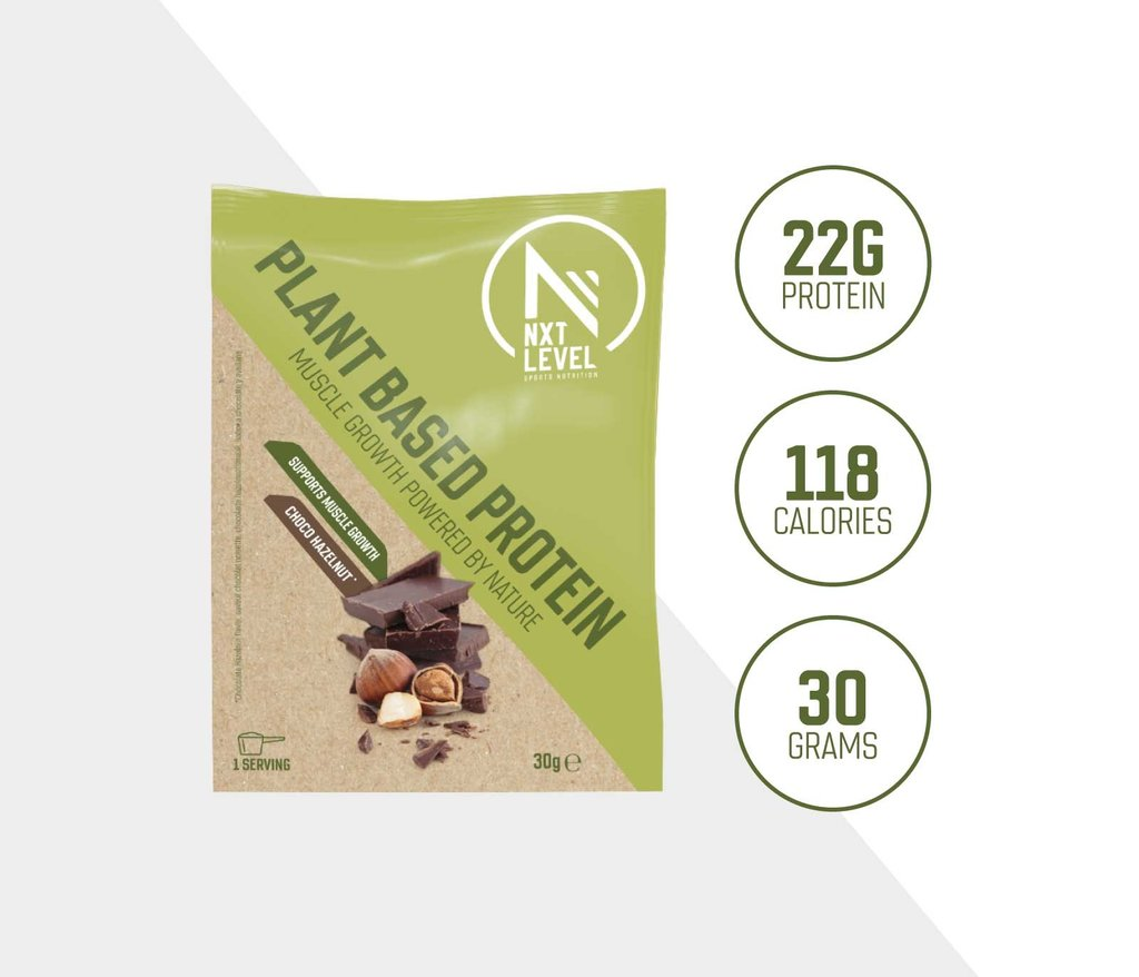 Plant-Based Protein - Choco Hazelnoot - 30g (t.w.v. € 2,00)