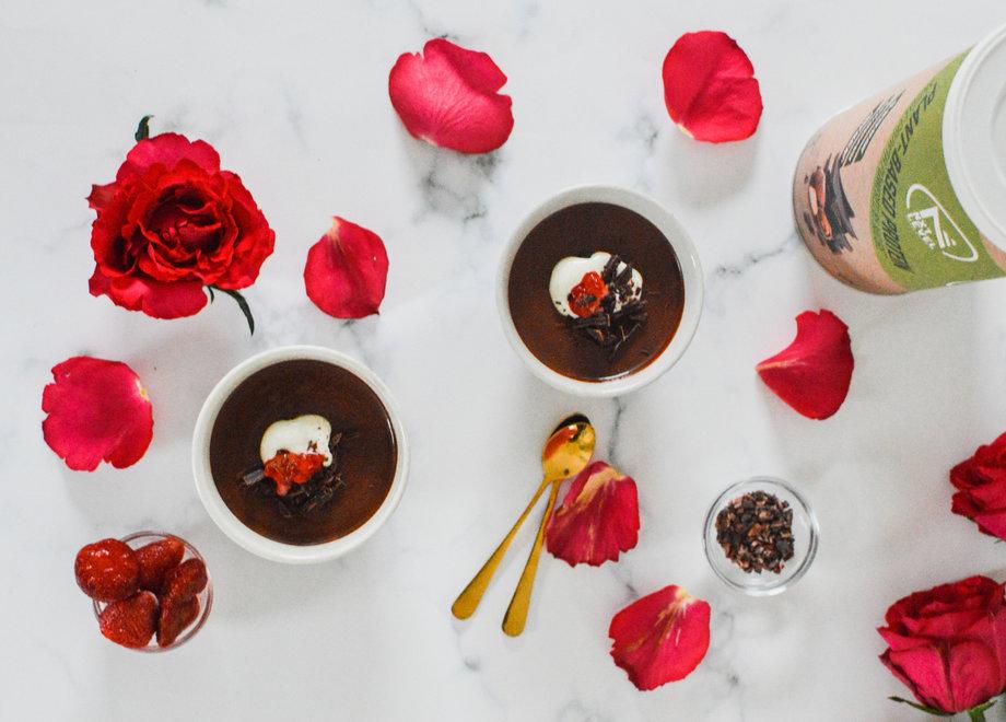 High Protein Chocolate Hazelnut Pots (Plant-Based)