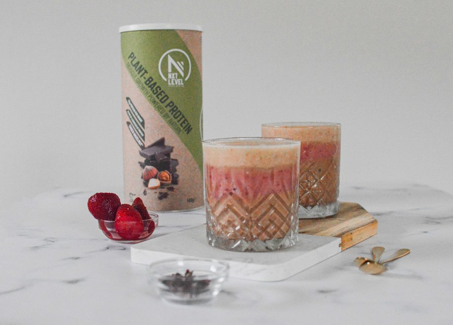 High Protein 3 Layers Smoothie (Plant-Based)