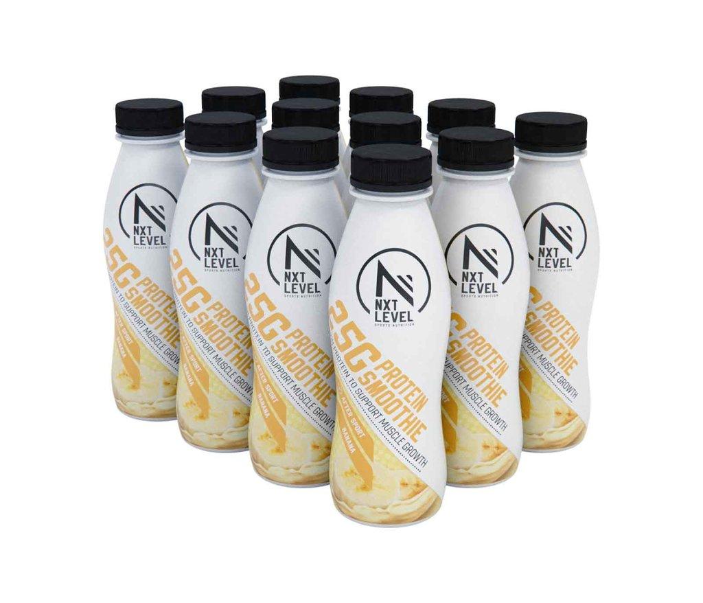 High Protein Smoothie - Plátano (12 pcs)