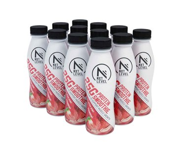 High Protein Smoothie - Strawberry (12 pcs)