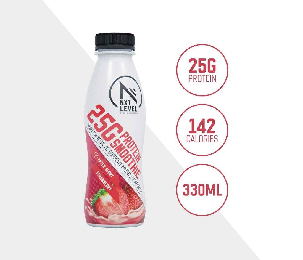 High Protein Smoothie - Fresa (12 pcs)