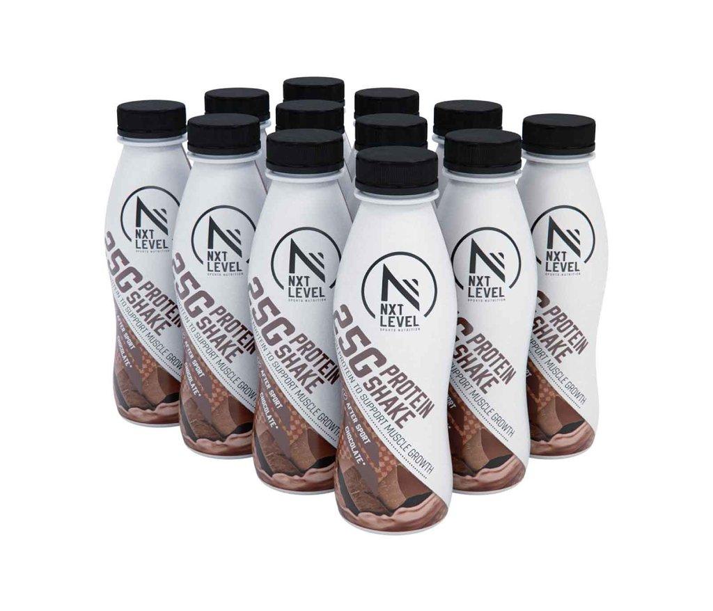 High Protein Shake - Chocolate (12 pcs)