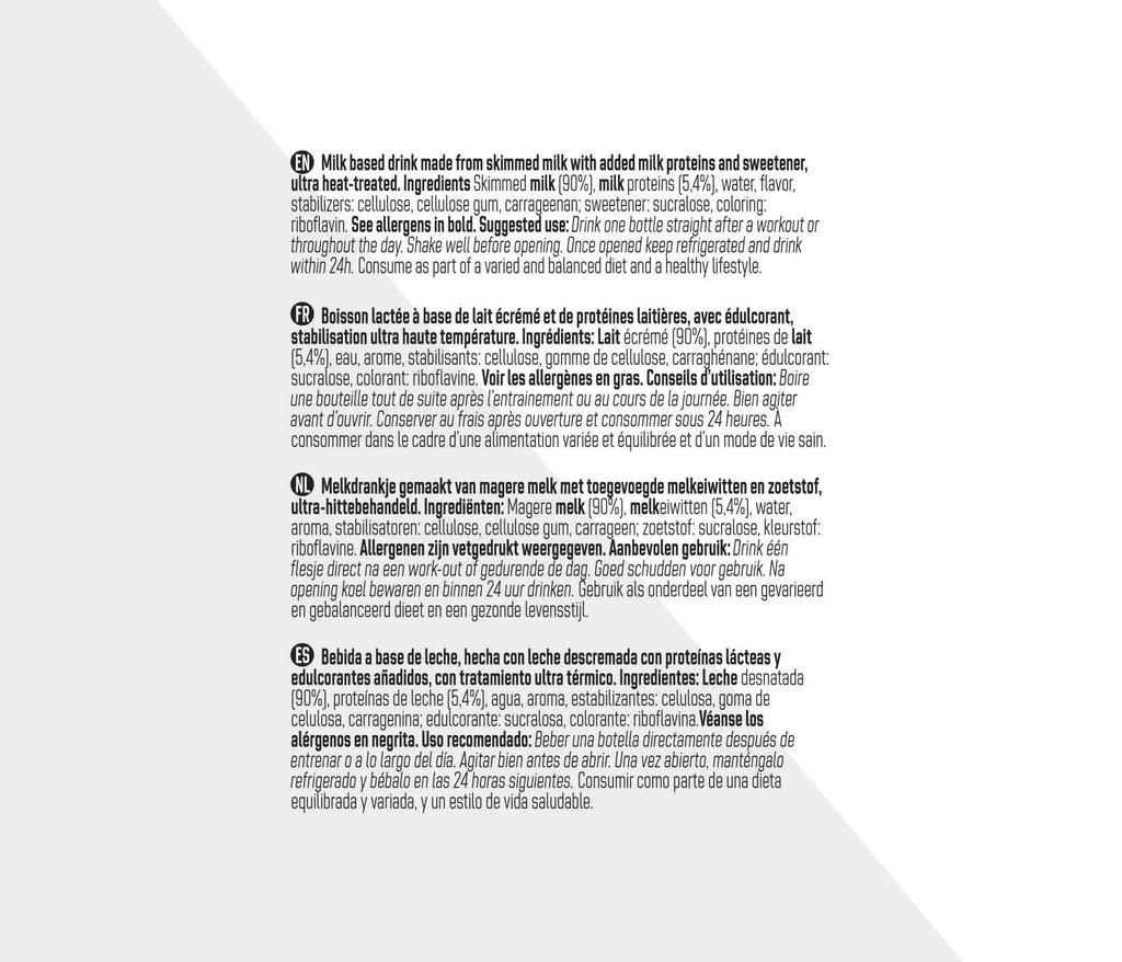 Batido de proteína – Sabor vainilla (12 pcs)
