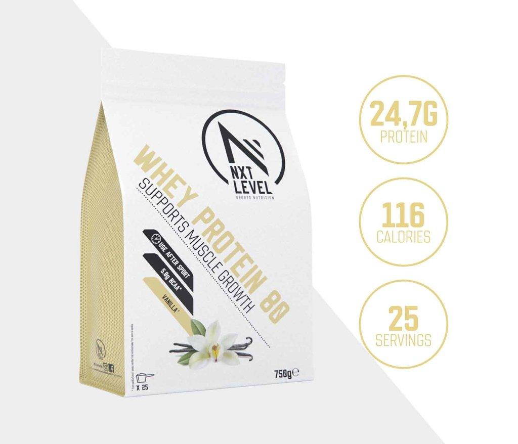 Whey Protein 80 - Vainilla - 750g