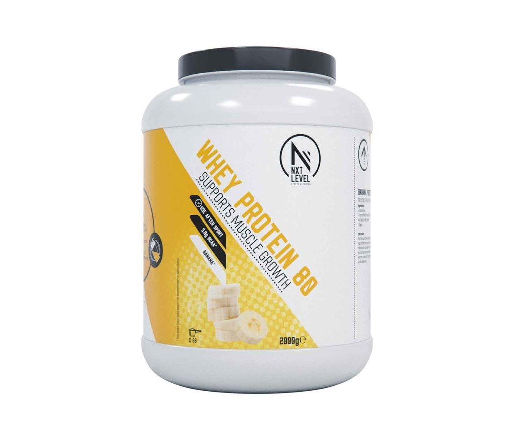 Whey Protein 80 - Banana - 2kg