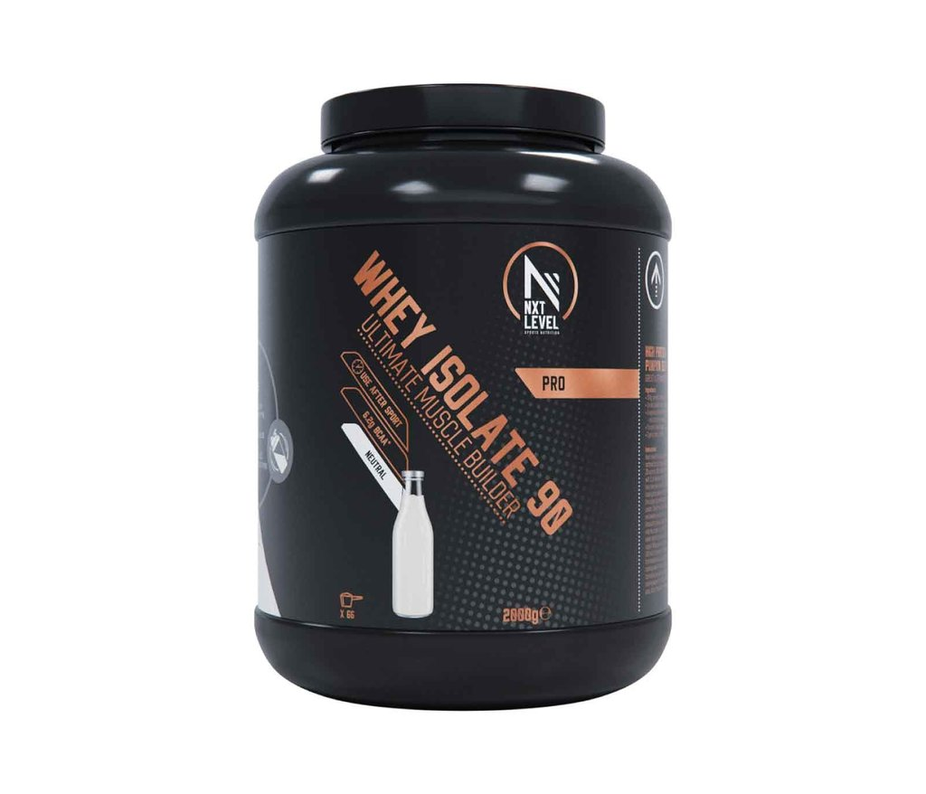 Whey Isolate 90 - Neutral - 750g