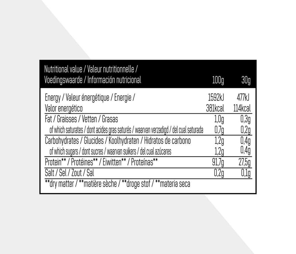 Whey Isolate 90 - Neutraal - 750g